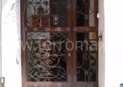 22 Puerta de Forja sin Cristal