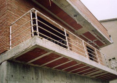 03 Barandilla Balcón Inoxidable