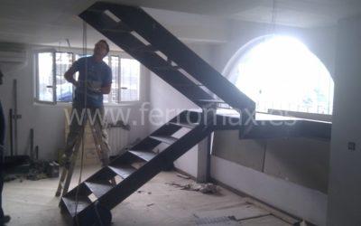 Fotos Proceso Montaje Escalera