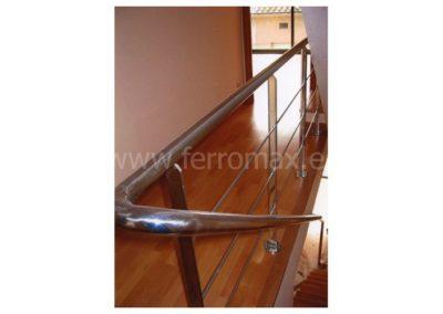 08 Barandilla Inox en Escalera de Vecinos