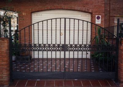 48 Puerta en Forja para Finca