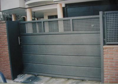 60 Puerta Acero Inox para Casas y Coches