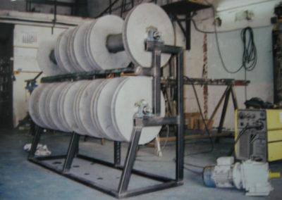 71 Estructura metálica para bobinas industriales