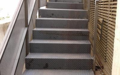 Fotos Escaleras metálicas