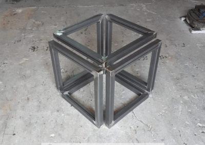Estructura Metálica con soldadura