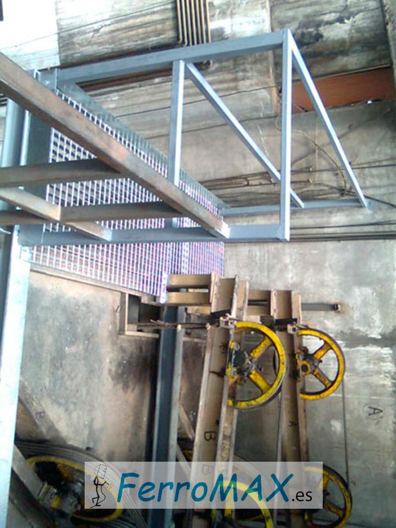 Estructuras Metálicas para Ascensor
