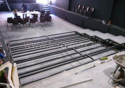 Estructura de Gradas para Teatro