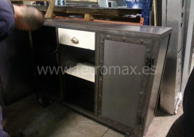 Mueble Metálico Vintage