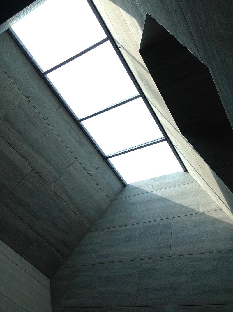 Claraboya estructura metálica